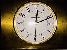 Tiffany's & Co. Clock Rare Unique Heavy Solid Design Vintage Antique