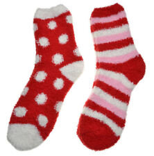 2 Pairs of Soft & Warm FLUFFY Socks - Cosy Socks Slipper Bed