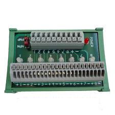 Sensor Wire Connecting Distribution Breakout Board Terminal Blocks DIN Rail Type