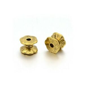 Wholesale Antique Gold Tibetan Zinc Beads Tube Spacer 5 x 7mm 3 Packs Of 30