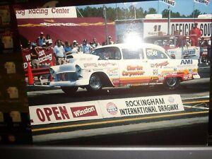 Charles Carpenter '55 Chevrolet NHRA Top Sportsman Vintage Postcard