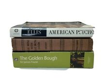 Vintage Novels: The Golden Bough Study In Magic & Religion, American Psycho Pb