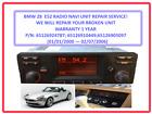 BMW Z8 2001 Radio/Navigation Repair Service!! Warranty 1 Year!