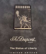 ST DUPONT STATUE OF LIBERTY LINGE LINE 2 LIMITED EDITION LIGHTER ONLY 350 MADE