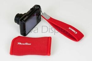 Canon PowerShot Protection Bag &Padded Hand Strap for G9 X Mark II S120 NEW