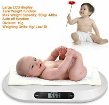 Electronic 20KG Baby Weighing Scales Infant Digital Toddler Home Bathroom Weight