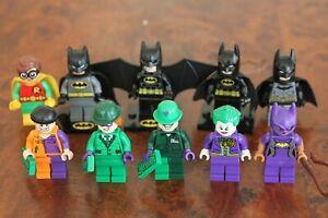 Genuine LEGO Batman Characters minifig Joker Riddler Catwoman Robin Henchman