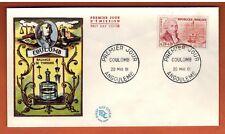1961 - Fdc Enveloppe 1°Jour**Coulomb Inventeur - Obl.Angoulème -Timbre-Yt.1297