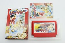 Mighty Final Fight with Box Manual Nintendo Famicom FC NES Japan Tested Working