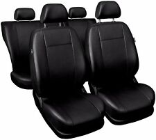 CAR SEAT COVERS full set fits Vauxhall Zafira Universal Leatherette Black