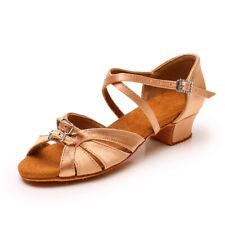 Girls Dance Shoes Kids Ballroom Latin Shoes Soft Women Ladies Tango Indoor Dance