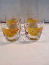 Vintage COPA DE ORO Coffee Liquor B53 Black Russian Recipe Drink Cocktail Glass
