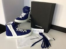 Pierre Hardy Neoprene Calf High Tops U.K. 6, Eu 39, Blue, White, NEW RRP £345