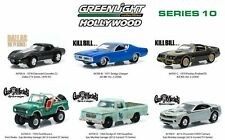 Greenlight 6 Pieces Set HOLLYWOOD SERIES 10 ASSORTMENTS 1:64 Diecast Car Model