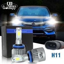 2x 16000LM 72W H11 H8 H9 H16JP LED Car Headlight Kit Bulb Conversion 6500K White