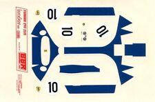 FERRARI 290 MM N°10 ECURIE NORTH AMERICA LE MANS 1957 BBR DECALS 1/43