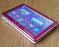 """NEW EVODIGITALS PINK 48GB 4.3"""" TOUCH SCREEN MP5 MP4 MP3 PLAYER VIDEO + TV OUT"""