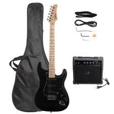 Glarry GST E-Gitarre für Einsteiger mit verstellbaren Gitarrenhals & Verstärker