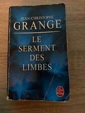 Livre Jean-Christophe Grangé Le Serment des limbes