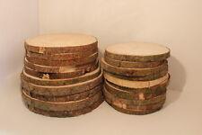 FICHTE Restposten Holzscheiben Astscheiben Baumscheiben Floristik 20St. 10-16cm
