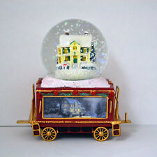 Together for Christmas Wonderland Express Snow Globe Train #9 Thomas Kinkade