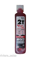 Oregon 2T deux temps semi synthétique One Shot huile, FD tronçonneuses 100ml pour 5L