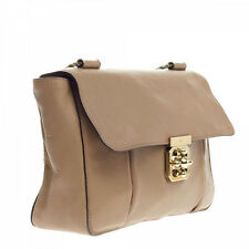 NEW Chloe Small Elsie Shoulder Bag-Biscotti Beige