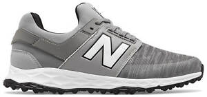 New Balance NB Fresh Foam Links SL Golf Shoes 4000GR Grey Men's New