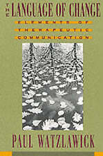 The Language of Change: Elements of Therapeutic Communication, Acceptable, Watzl