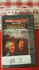 Cassette dcc Pavarotti pagliacci