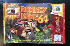 DONKEY KONG 'Collector's Edition Yellow Game NINTENDO 64