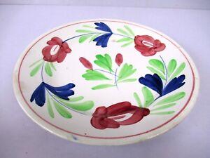 "Antique Plate Imperiale Et Royale Nimy Belgium Stick Spatter 8-3/4"" Adams Rose""F"