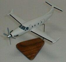 Pilatus PC-12 Airplane Desktop Wood Model