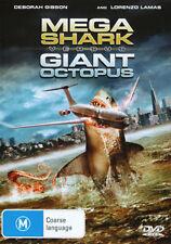 Lorenzo Lamas Debbie Gibson MEGA SHARK VS GIANT OCTOPUS DVD