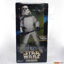 """Star Wars Action Collection Sandtrooper with Imperial Droid 12"""" figure worn box"""