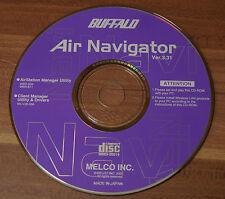 CD BUFFALO Air Navigator 3.31 AirStation Manager Utility & Drivers