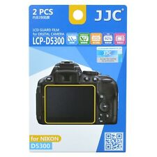 JJC LCP-D5300 LCD Screen Protector Guard Film Cover for Nikon D5300 D5500 D5600