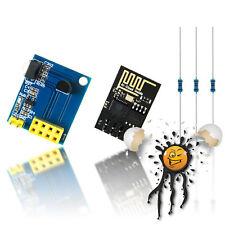IoT WLan WiFi  Arduino DS18B20 Temperatur Sensor Modul ESP8266 ESP01 Widerstände