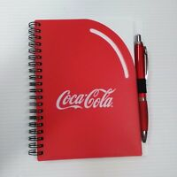 Coca-Cola Spiral Notebook with Pen - FREE SHIPPING