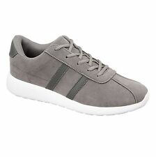 MENS TRAINERS FAUX SUEDE GYM FITNESS RUNNING JOGGING SPORTS SHOES SIZE UK 7-12