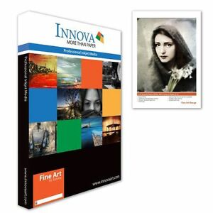 Innova Editions Etching Cotton Rag Giclee Inkjet Paper 315g A4 25 (IFA-11-A4-25)
