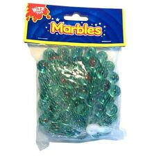 40 Glass Marbles Kids Traditional Toys Coloured Classic Retro Gift Game Party