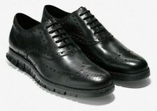 NEW Cole Haan Zerogrand Leather Wingtip Shoes 11 M, 12 W Black C20719 $190