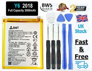 Replacement Battery Huawei Y6 2018 Full Capacity 3000mAh UK Stock