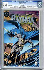 Batman #500  CGC  9.4  NM  white pages
