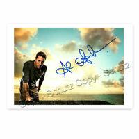 Hawaii Five-0 // Steve /& Moonlight // Mick K24 Autogrammfoto Alex O/'Loughlin