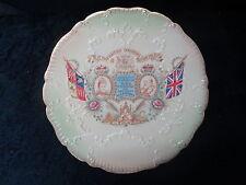 Plate- 1902 Edward VII Coronation Made for J. Goldswain, 114 Kings Road, London.