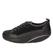 women's shoes MBT 6 / 6,5 (EU 37) sneakers black suede leather AB81-B