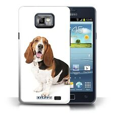Stuff 4 Case/Cover for Samsung Galaxy s2/sii/Basset Hound/Dog/Dogs