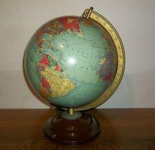 Vintage 1945 Replogle 10 inch Precision  Globe